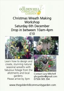 willow wreath making 2014